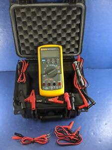 Fluke 787 Processmeter Screen Protector Excellent Condition Case More