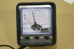 Auto Test Model 400 Tach Dwell Cam Angle Meter Diagnostic Tool