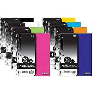 1 Subject Notebooks Case Of 24 Wholesale School office Supplies