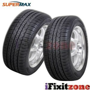 2 Supermax Tm 1 215 70r16 100t Tire Performance All Season 45k Mile New A s