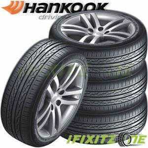 4 Hankook Ventus V2 Concept 2 H457 205 50r17 93v All Season 45 000 Mileage Tires