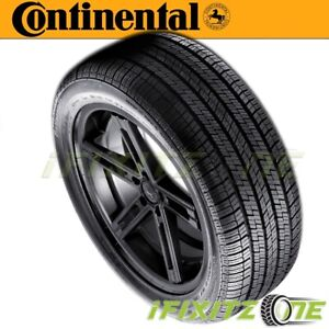 1 X New Continental Contitouringcontact Cv95 225 50r17 94v Tires
