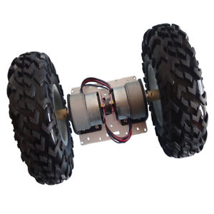 2 wheel Robot Smart Car Chassis Kits Car Model With Encoder Motor For