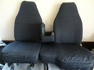 1998 2001 Ford Ranger Xlt Xcab Exact Seat Covers 60 40 Bench In All Black