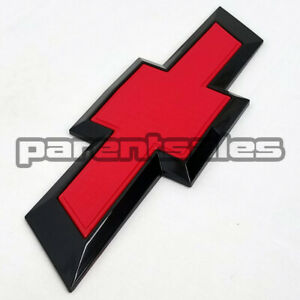 Red Black 2014 2018 Chevrolet Silverado 1500 Style Tailgate Bowtie Emblem