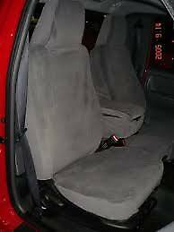 2004 2005 Ford Ranger Front 60 40 Split Seat Exact Seat Covers All Black Twill