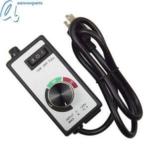 For Router Fan Variable Speed Controller Electric Motor Rheostat Ac 120v New