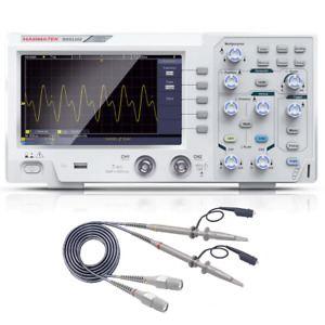 High Quality Digital Oscilloscope 100mhz 2 Chanel Oscillograph 7 Tft Lcd Kit