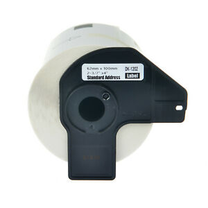 1 Roll 62mm Shipping Label For Brother Dk 1202 Dk1202 W 1 Frame Ql 1050 Ql 1050