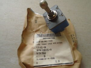 1 Ea Nos Honeywell Micro Toggle Switch W Various Applications P n 4tl1 10a