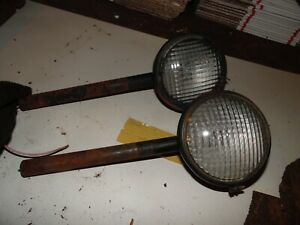 1951 Allis Chalmers Wd Tractor Lights nice
