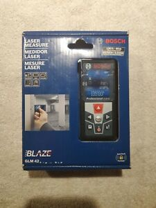 Bosch Glm 42 blaze 135 Laser Distance Measurer New factory Sealed