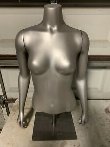 Fusion Female Torso Mannequin With Removable Arms base