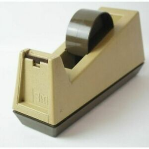 Heavy Duty Scotch 3m C 25 Model 176 Weighted Tape Dispenser Used