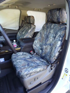 2014 2019 Chevy Silverado Exact Fit Car Seat Covers Bucket Camo Waterproof New