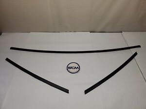 1987 93 Mustang Outer Windshield Trim Exterior Molding Hatch Notch Coupe Oem