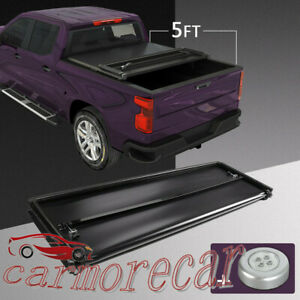 Tonneau Cover 5 Ft Short Truck Bed Soft Tri Fold For Ford Ranger 2019 2020 New
