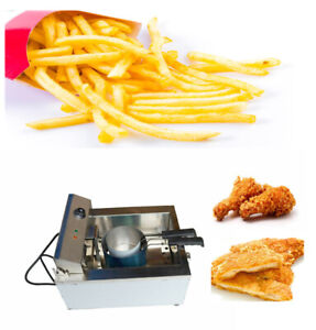 Brand New Funnel Cake Donut Fryer Deep Fryer 110v Commercial Restaurant 023067