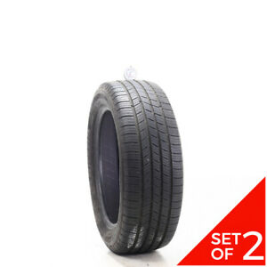 Set Of 2 Used 215 55r17 Michelin Defender T h 94h 7 5 32