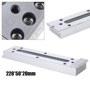 Edm Stainless Steel Cnc Wire Jig Holder Fixture Tool Board Clamping leveling Usa