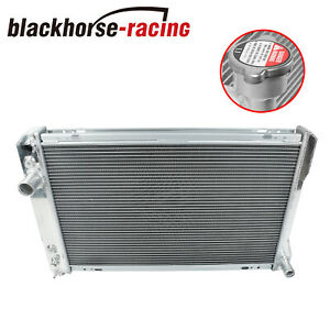3 Row Aluminum Core Radiator Fit 1982 1992 Chevy Camaro pontiac Firebird Trans