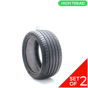 Set Of 2 Used 255 35r18 Michelin Primacy Mxm4 Mo 94h 8 8 5 32