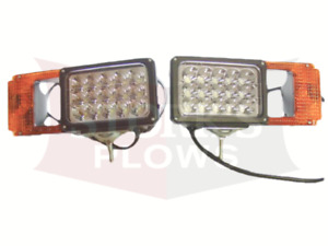 Msc03747 Led Boss Snow Plow Light Set Arrow 780 Headlights