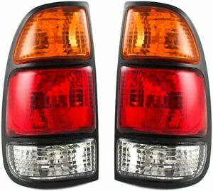 For Toyota Tundra 2000 2006 Rear Tail Brake Lights Lamps Right left Set Pair