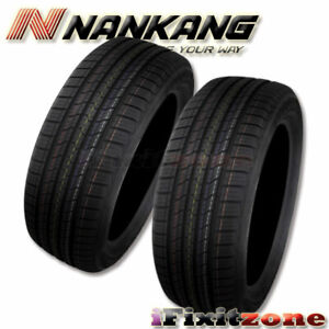 2 Nankang Sp 9 225 60r15 96v Sl All Season High Performance 50k Mile Tires