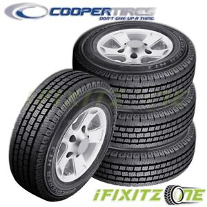 4 Cooper Discoverer Ht3 Lt275 70r17 E 10 All Season Commercial Truck Van Tires