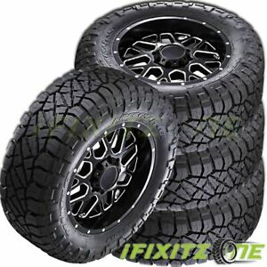 4 Nitto Ridge Grappler All Terrain Pickup Truck Lt275 55r20 120 117q Mud Tires