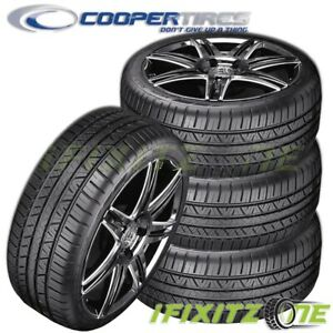4 New Cooper Zeon Rs3 g1 High Performance 215 45r17 91w Xl M s All season Tires