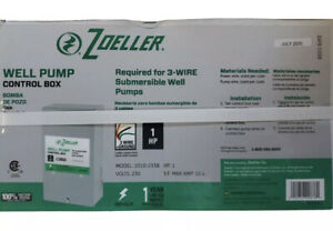 Zoeller Well Pump Control Box 230v Model 1010 2338 1 Hp 3 wire Ground