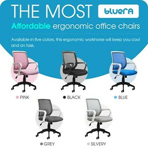 Mid back Mesh Ergonomic Office Chair Home Desk Executive Swivel Computer Chair