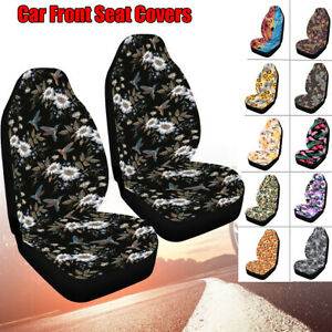 Universal Car Autos Truck Interior Front Seat Cover Protector Cushion Washable