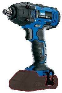 Storm Force 20v 1 2 5 Speed Cordless Mid torque Impact Wrench Gun 250nm