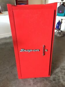 Snap On Kr289 Red 9 Drawer End Cabinet
