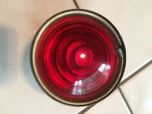 Vintage Guide a Tail Light Lamp Nos Rare Gm Ford Harley Knucklehead Panhead Gmc