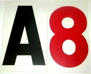 8 Acrylic Letter Set 0 060 Thick For Portable Lighted Signs