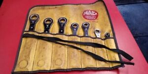 Mac Tools Ratcheting Box Wrench Set Of 7 Metric 7 21 Mm