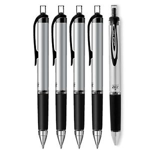 Uni ball Impact Rt Retractable Bold Point Gel Pens 5 Black Ink Pen 65870