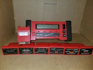 Snap on Mt2500 Scanner 7 Cartridges Works Great Pls Read Discription