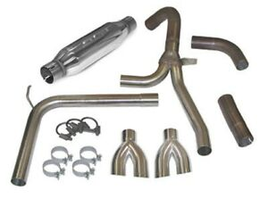 Slp For 98 02 Camaro firebird Loudmouth Cat back Exhaust System dual Tips 31042