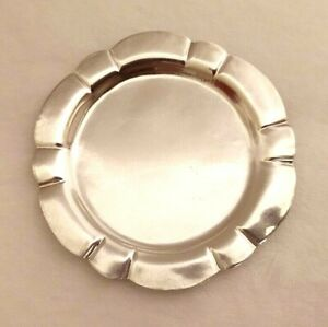 Miniature Sterling Silver Tray Dollhouse
