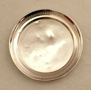 Miniature Sterling Silver Tray Dollhouse 1 12