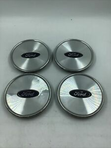 2003 2005 Ford Crown Victoria Wheel Center Cap Set Of 4 3w73 1a096 Aa Oem
