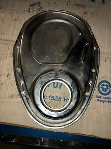 Small Block Chevy Chrome 327 350 400 Timing Chain Cover Sbc Gm
