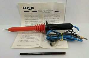 Rca Victor Co High Voltage Test Equipment Probe Wg 289 And Wg 206 With Manual