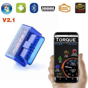 Obd Scanner Code Reader Automotive Scan Tool Engine Check Car Diagnostic Android