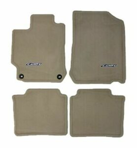 2012 2014 Camry Floor Mats Ivory Carpet 4 Piece Genuine Toyota Pt208 03120 40